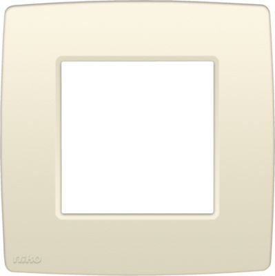 NIKO PLAQUE SIMPLE 60mm CREME