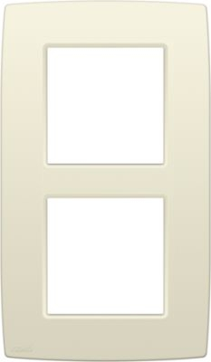 NIKO PLAQUE DOUBLE 60mm CREME