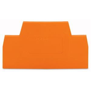 WAGO PLAQUE D'EXTREMITE/ORANGE