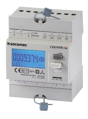 SOCOMEC COUNTIS E43 3PH C/T5A RS485