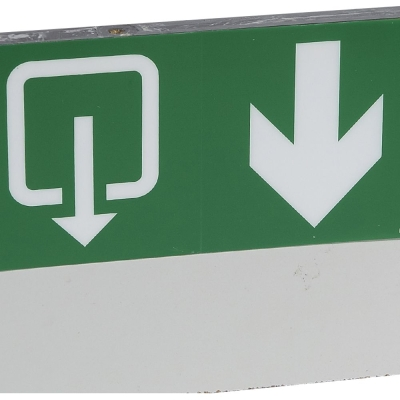 LEGRAND Pictogram evacuation + fleche