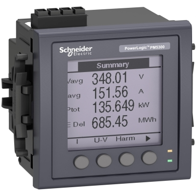 Schneider Distribution PM5310 THD ALARME RS485 MLTI 2DO,2DU
