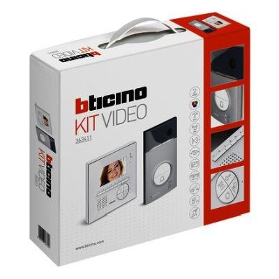 BTICINO Kit vidéo couleur 1 BP Linea 3000+ Cl100