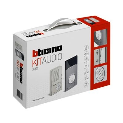 BTICINO Kit audio 1 BP Linea 3000 + Cl. 100 A12B