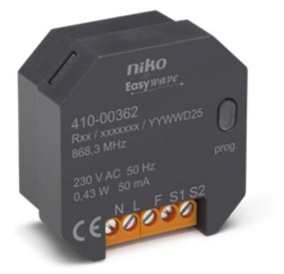 NIKO Interupteur 2 canaux RF