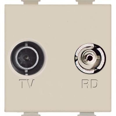 BTICINO Magic prise TV/R réseau câblé